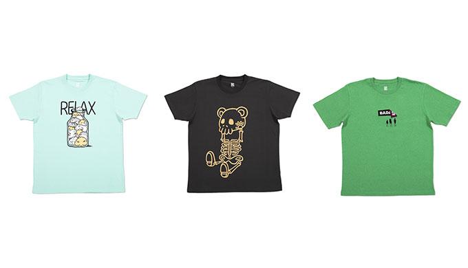 デザイン性の高いTシャツが豊富に揃っているから